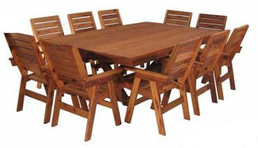 Combinations bench timber furniture outdoor furniture for 10 seater dining table perth